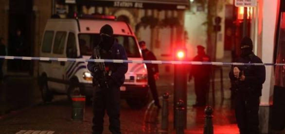 Aleretă cu bombă la Bruxelles foto facebook.com
