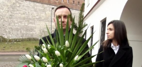 Czy Marta Kaczyńska pożąda Andrzeja Dudę?
