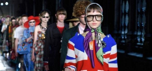 El desfile Gucci 2017 en Londres