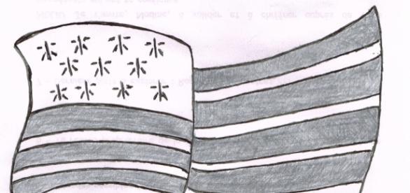 Le Gwen ha Du, l'étendard emblématique de la Bretagne.