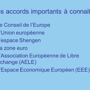 Les bénéfices du projet européen