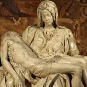 """Pieta"" by Michelangelo Creative Commons"