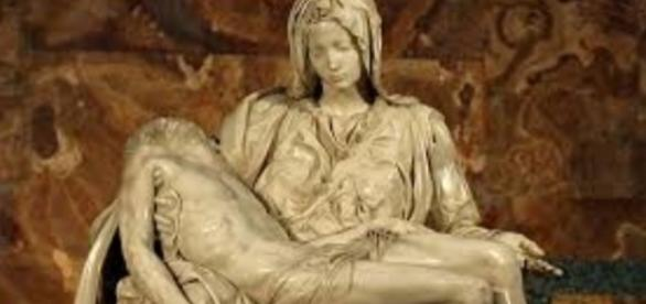 """Pieta"" by Michelangelo Creative Commons"