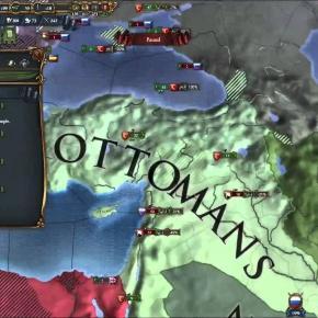 Map of Ottoman Empire (YouTube)