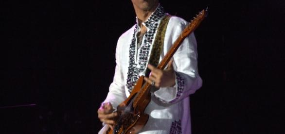 Prince performing at Coachella (Wikipedia)