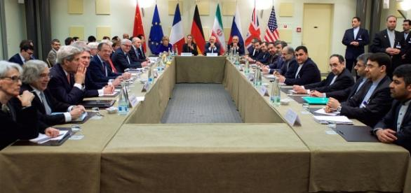Negotiators hash out details of nuclear deal/Photo via Flickr/United States Department of State