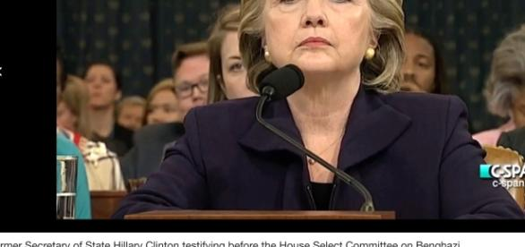 Hillary Clinton testified before the House Committee on Benghazi/Photo via Wikipedia