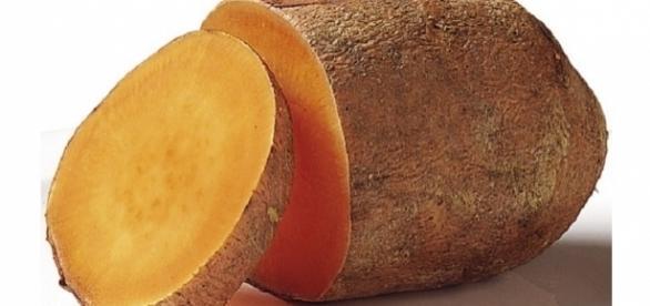 Mleko z batata, czyli słodkiego ziemniaka