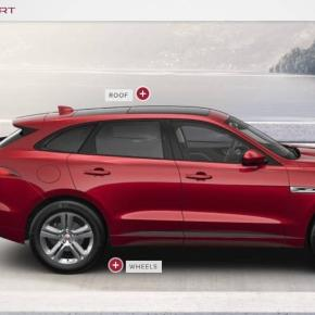Jaguar F-Pace configurator is up and pacing; here's what your ... - autoweek.com
