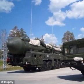 Rachete balistice intercontinentale Topol-M participante la manevrele militare din Rusia - Foto: Russia Today