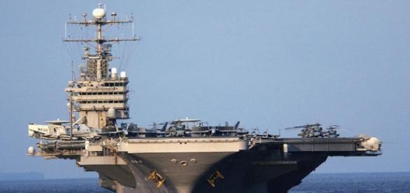 Aircraft carrier in Persian Gulf ... - cnn.com