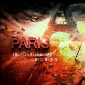 Islamscy bojownicy tworzą plakaty propagandowe, nawołujące do daleszej walki