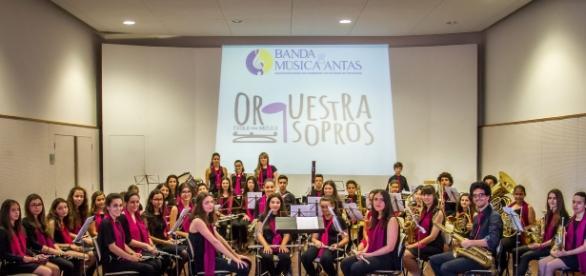 Orquestra de Sopros da Banda de Antas, uma das valências culturais de Antas