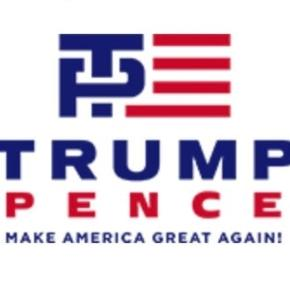 Trump-Pence logo courtesy Twitter