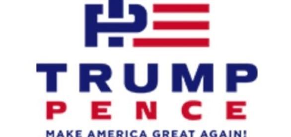Trump-Pence logo courtesy Twitter
