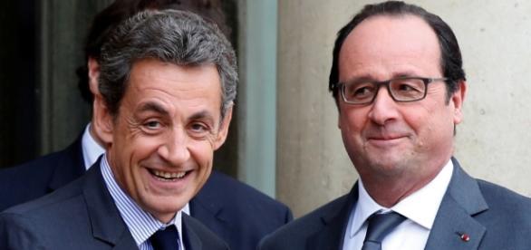 Nicolas Sarkozy et Francois Hollande