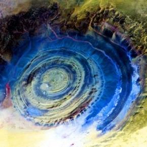 Ochiul Saharei - un mister neelucidat