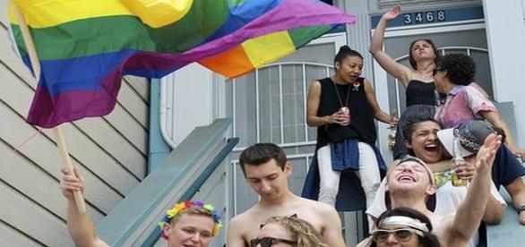An LBGT Pride gathering/Photo via Flickr