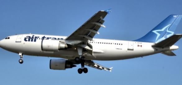 Un avion de tip A310 al companiei implicată în incidentul de zbor din Scoția