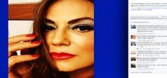 A atriz e modelo Luiza Brunet foi vítima de violência doméstica