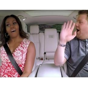 Preview Michelle Obama's Carpool Karaoke Ride With James Corden ... - people.com