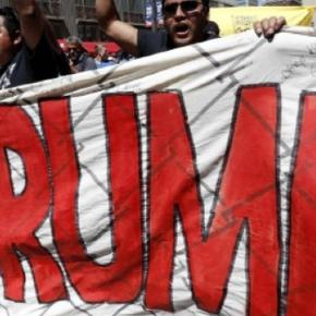 Protesters at GOP Convention in Cleveland