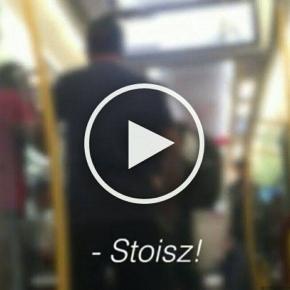"""""""Rasistowski"""" atak w pociągu SKM."""