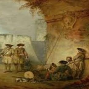 "Jean-Antoine Watteau ""The Portal of Valenciennes"". Creatve Commons via wiki"
