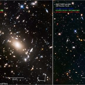 Stunning 'final frontier' Hubble image gives a glimpse of an early ... - dailymail.co.uk