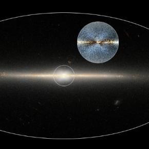 The Milky Way / Photo via NASA/JPL-Caltech/D.Lang, jpl.nasa.gov