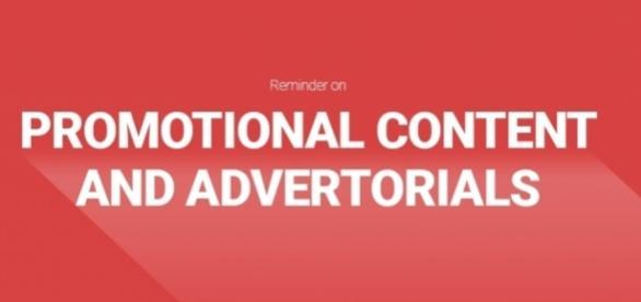 Rappel sur les contenus promo et la publicité