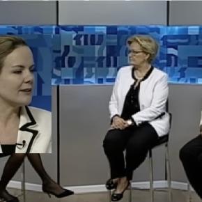 Gleisi Hoffmann e Ana Amélia - Foto/Reportagem