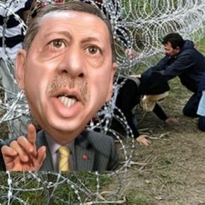 Președintele Erdogan amenință Europa cu un nou val de refugiați