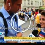 Młoda Syryjka masakruje TVN. Dziennikarz nie spodziewał się takiego obrotu sprawy.