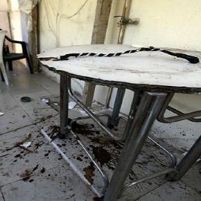 Imagine cu masa pe care acele femei au fost abuzate. Pe masă se poate observa un bici