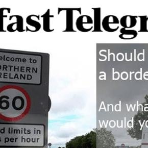 Le rétablissement des contrôles à la frontière entre l'Irlande et l'Irlande du nord pousse à la réunification
