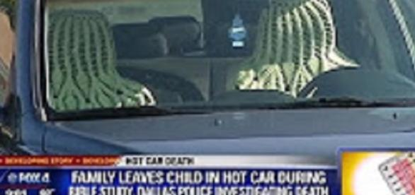 Boy, 3, dies in hot car. Source: YouTube still