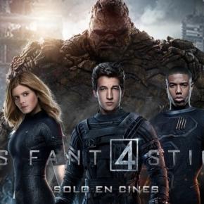 """Puesto N° 5: """"Los 4 Fantásticos"""" (2015)"""