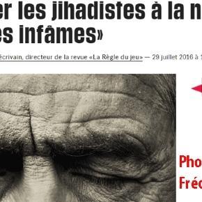Bernard-Henri Lévy a encore réussi à faire publier une photo de lui dans la presse