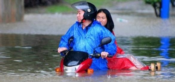 Inundaţiile din China au dus la decesul a 180 de persoane Foto: BBC.com