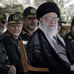 Qods Forces have been designated on the US list of terrorists since 2007. Here with the Iranian Supreme Leader Khamenei