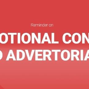 Reguli referitoare la conținutul promotional