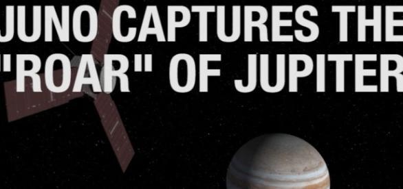 NASA's Juno spacecraft captures roar of Jupiter as it nears the ... - spaceref.com