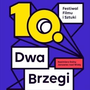 Plakat 10. festiwalu Dwa Brzegi