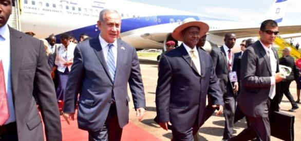 Ugandan President Refers to Israel as 'Palestine' during Netanyahu ... - voanews.com
