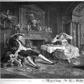 """Marriage a la Mode"" by William Hogarth Creative Commons"
