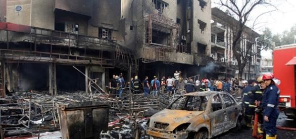 Death toll in Baghdad twin blasts rises to 165 - sputniknews.com