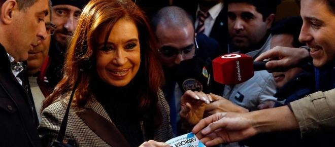 Cristina denunció a Bonadió y a Stolbizer