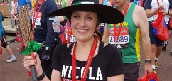 Mother who ran London Marathon dressed as a witch didn't break ... - telegraph.co.uk