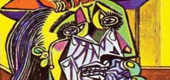 "Picasso's ""Weeping Woman"" Creative Commons"